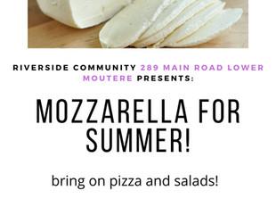 Summer Time Cheese: Mozzarella Workshop