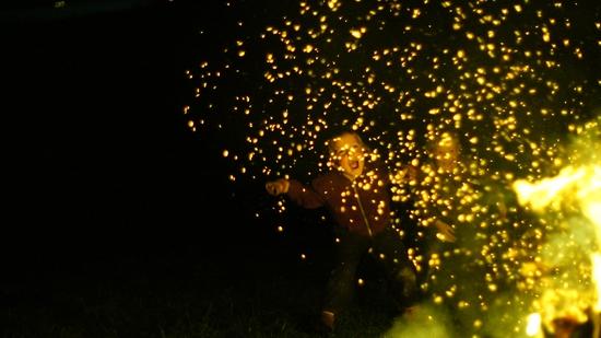 Harvest Festival Bonfire, 2015