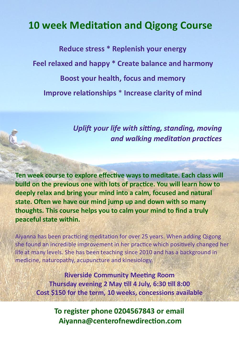 Meditation & Qigong