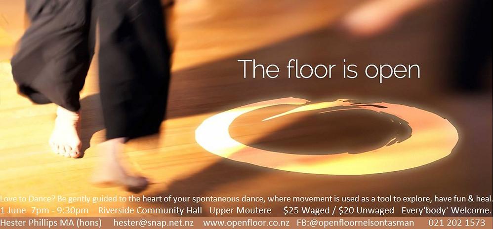 The Floor is Open Poster