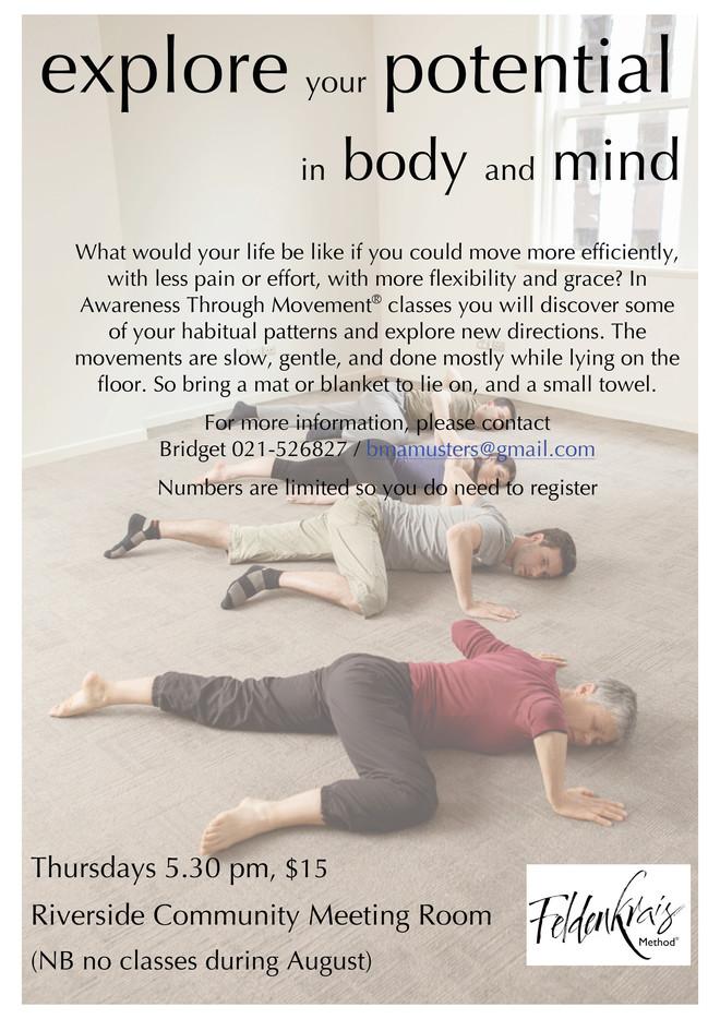 Awareness Through Movement®(Feldenkrais)