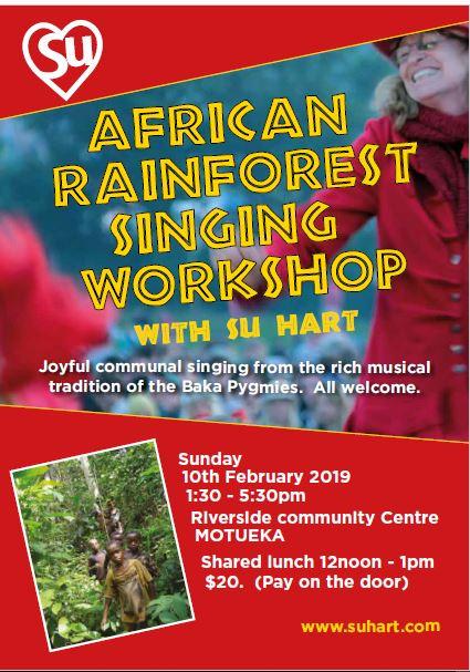 African Rain Forest Singing Workshop