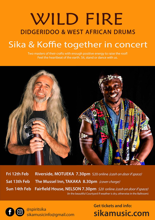 Wild Fire: Sika & Koffie Together in Concert