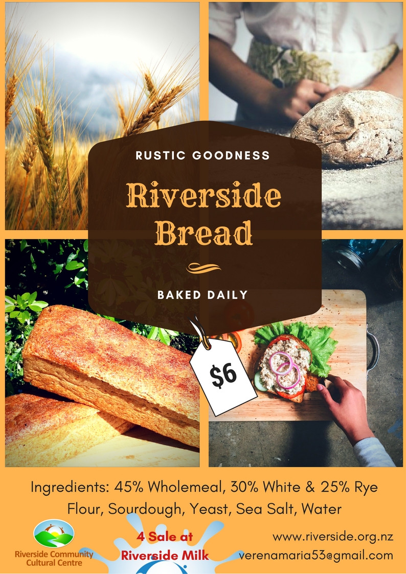 Fresh Bread for Sale at Riverside