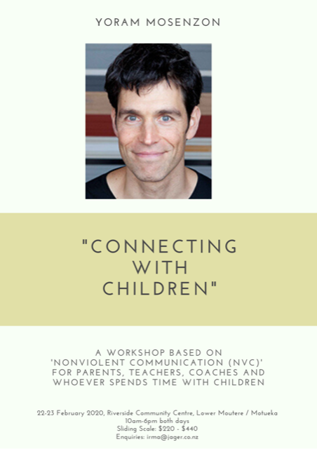 NVC Workshop with Yoram Mosenzon