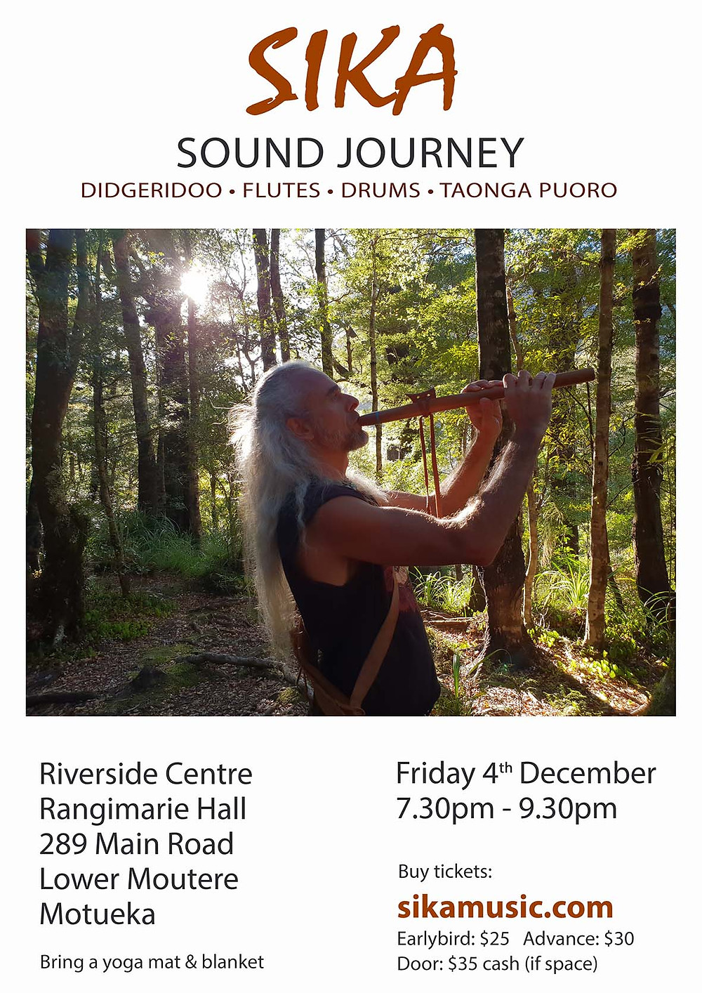 Sika Sound Journey in December at Riverside Centre