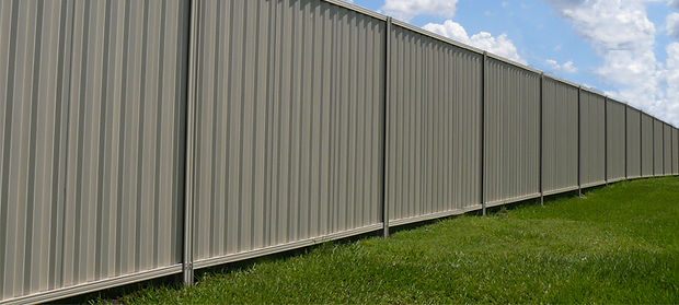 colorbond fencing steel canberra
