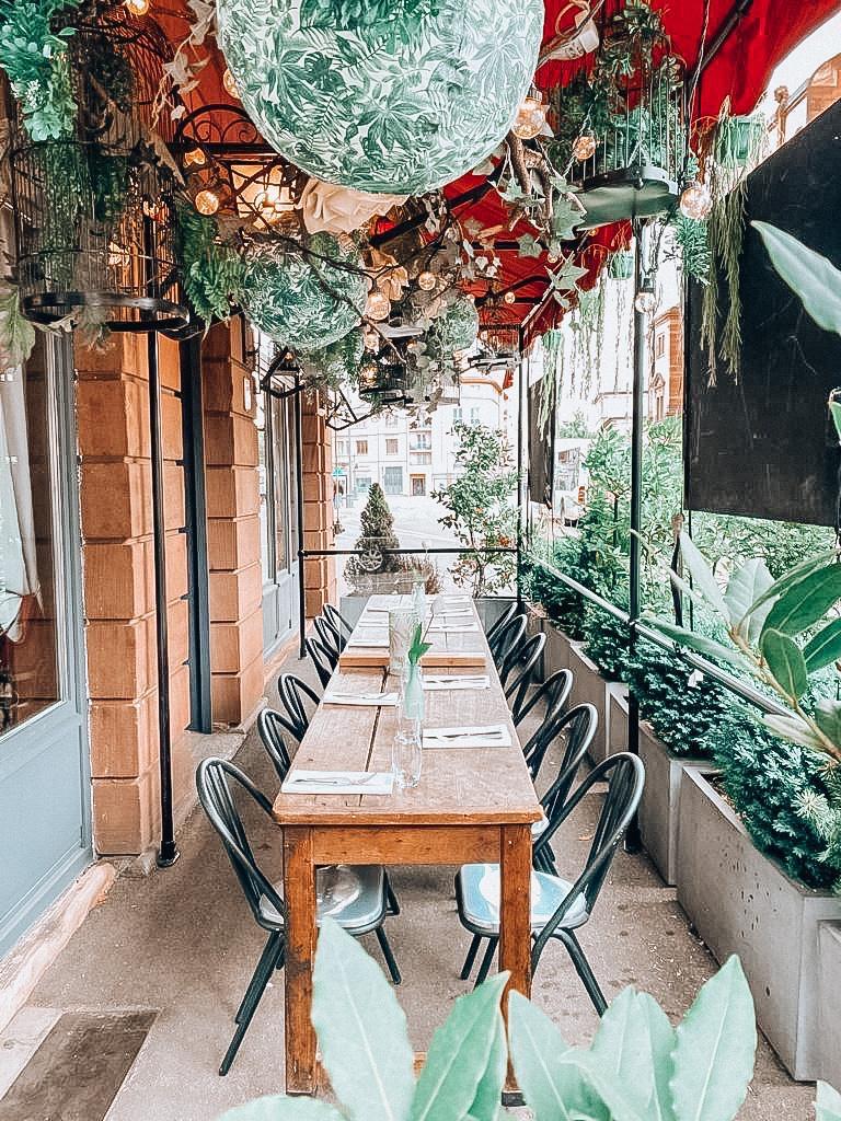 Terrasse restaurant Le Théâtre Colmar