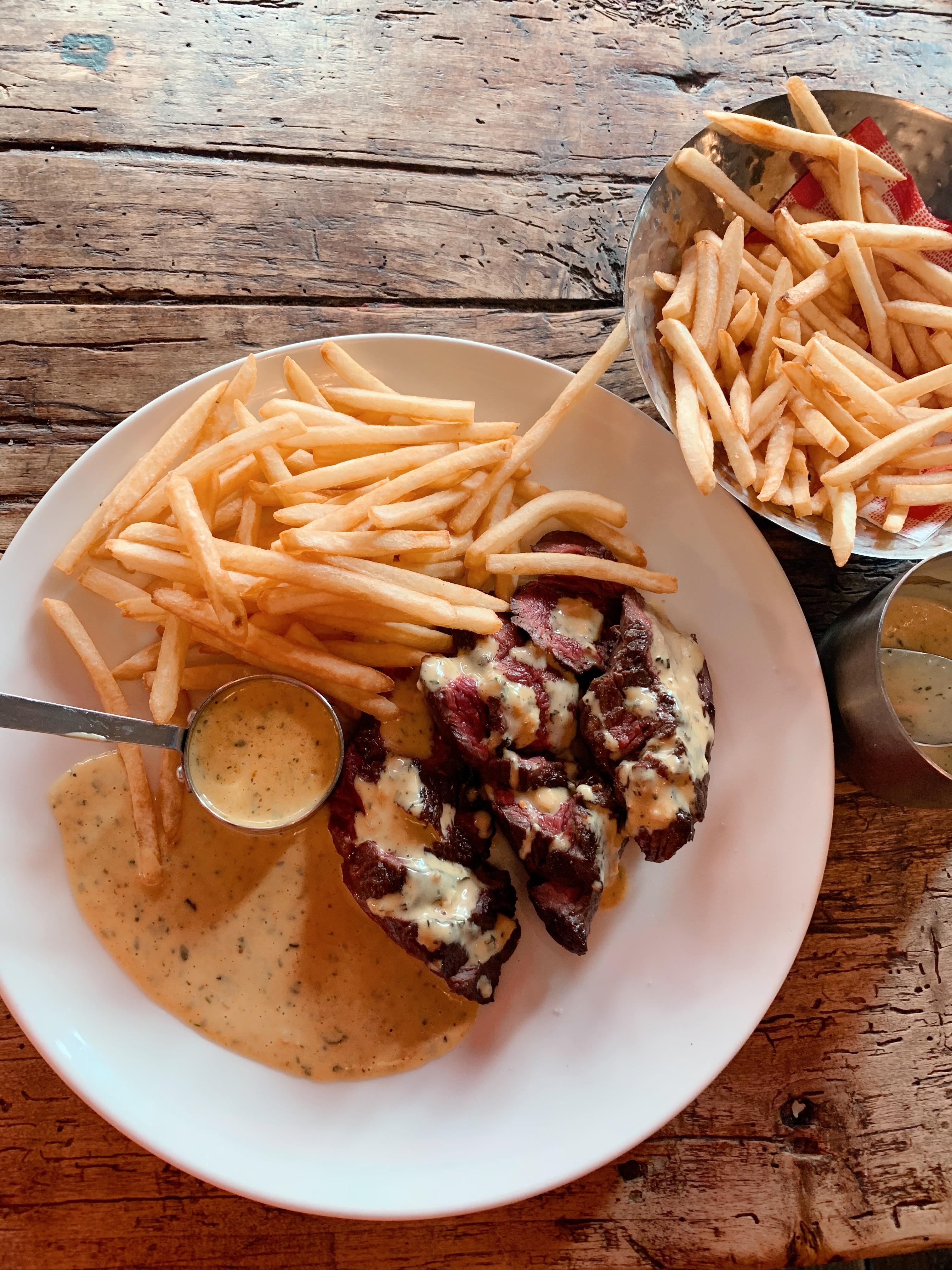 Entrecôte sauce Café de Paris