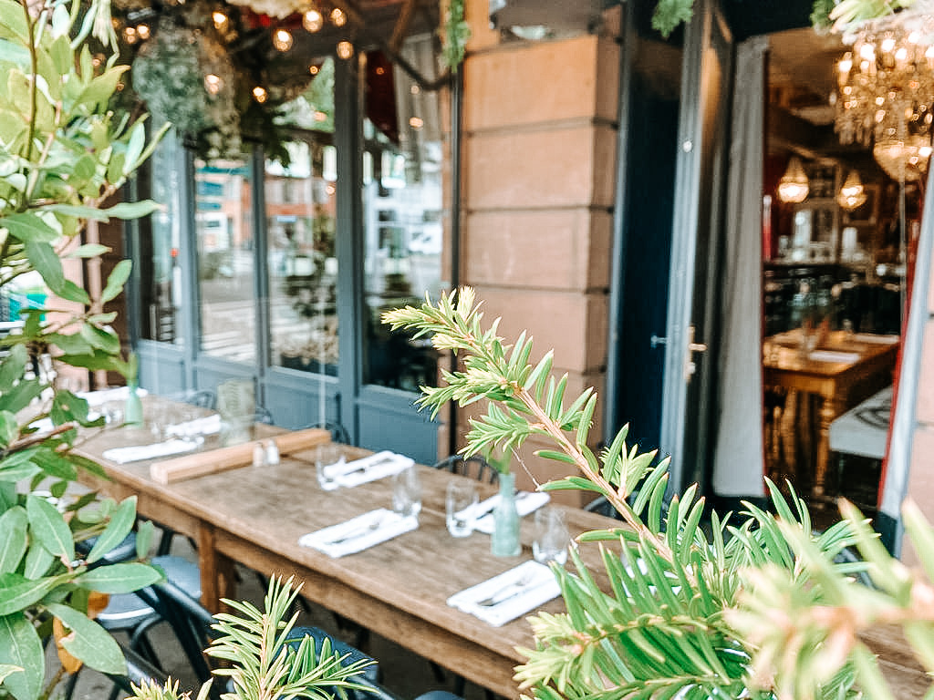 Terrasse à Colmar restaurant