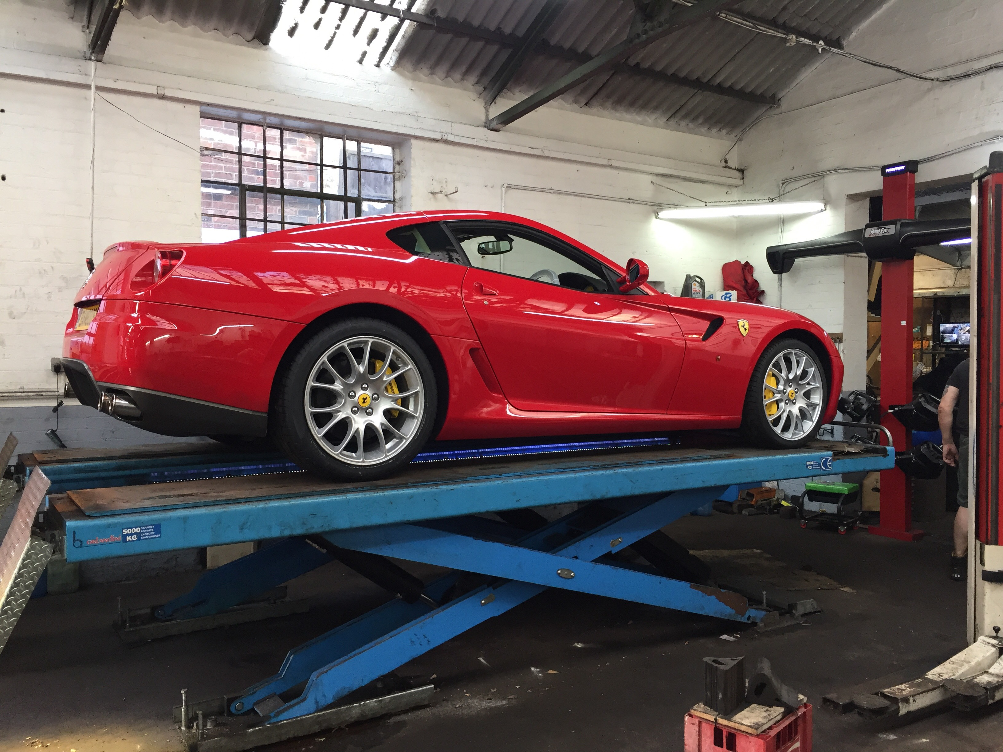 Ferrari Wheel Alignment