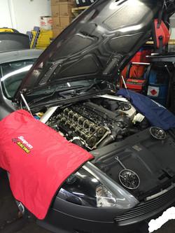 Aston Martin Engine Work