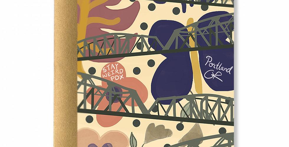 Stay Weird Portland Card