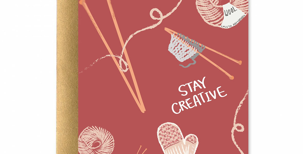 Stay Creative Card