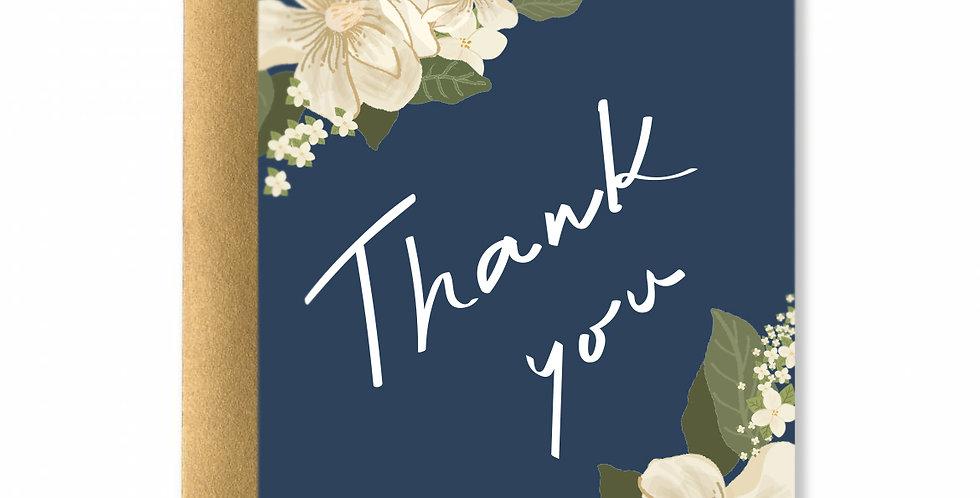 Blue Jasmine Greeting Card