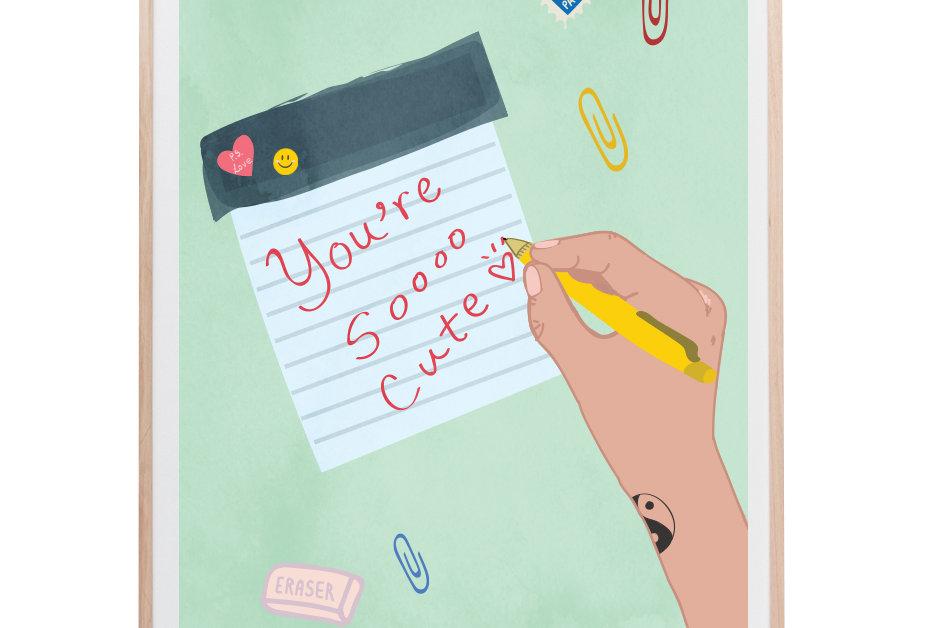 You're Soooo Cute Art Print