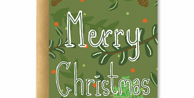 Enchanted Christmas Greeting Card