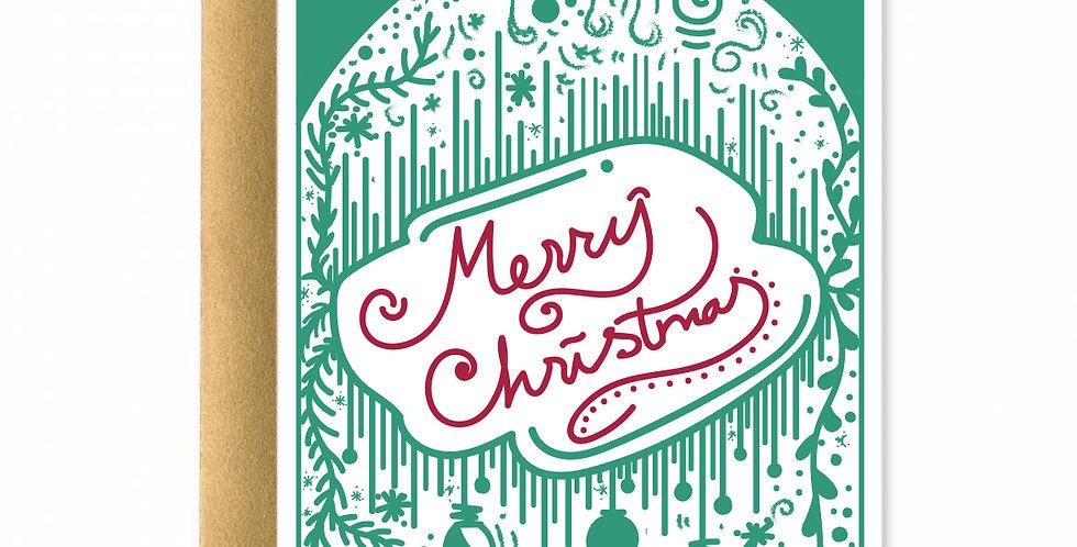Merry Christmas Card I
