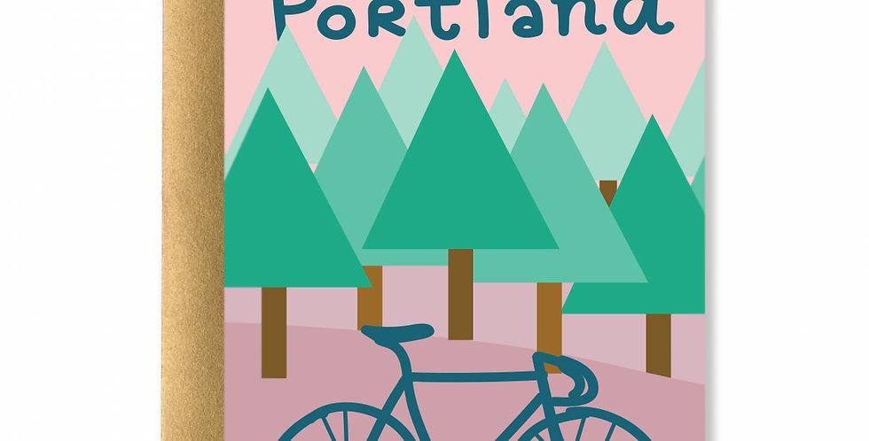 Still Biking Card