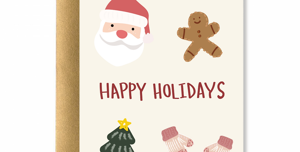 Happy Holidays Card I