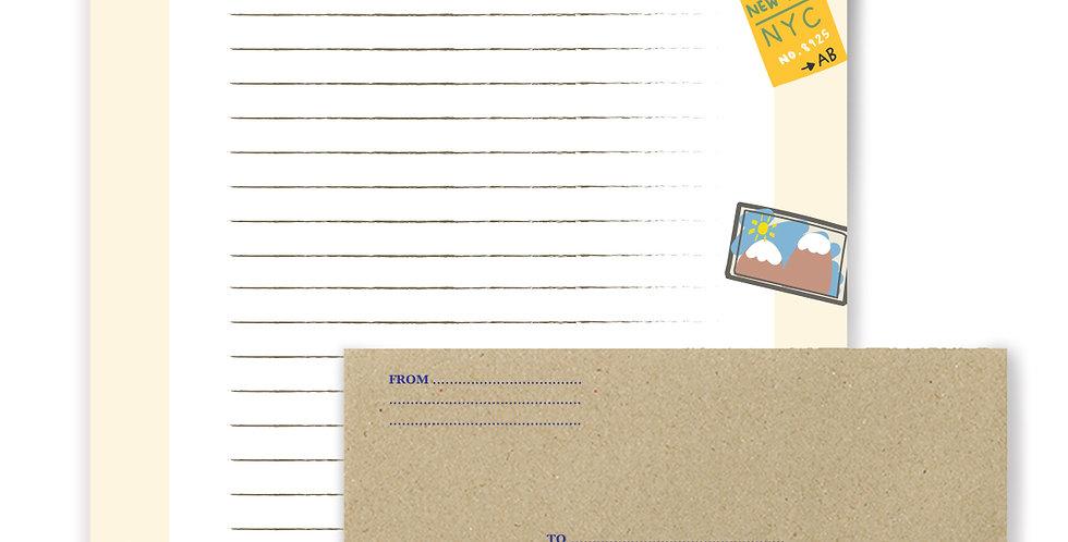 Travel Letter Writing Set