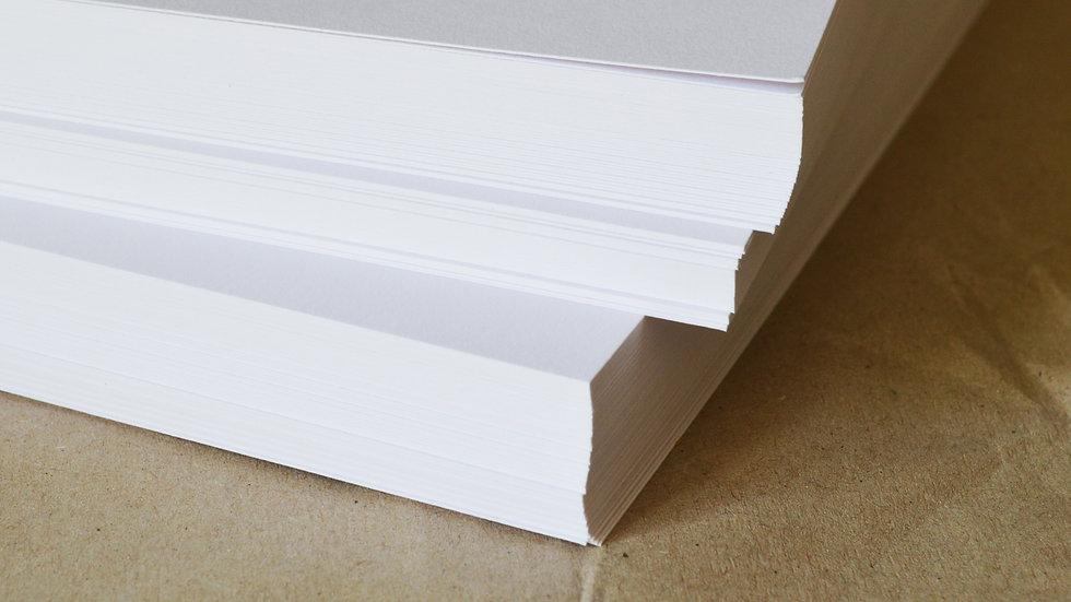Papier dessin Paquet de 100 feuilles A4,  250g