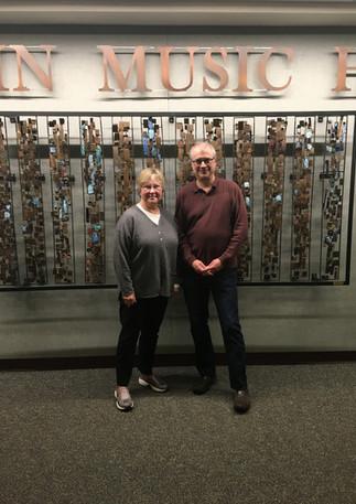 With Brad Michel, Session Recordist