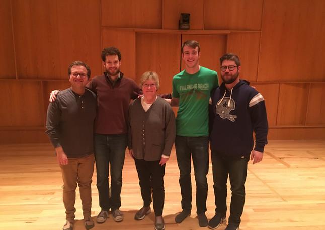 With the Altius Quartet
