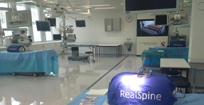 """""""From Simulation to Cadaver Lab"""" –Training of Young Specialists on RealSpine"""