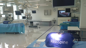 """From Simulation to Cadaver Lab"" –Training of Young Specialists on RealSpine"