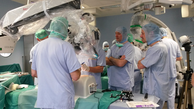 Spine surgical training