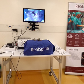 RealSpine Demonstration at INSIMED in Colombia