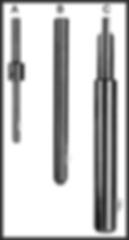 deburring tool type a, type b, type c