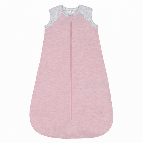 Organic Raglan Dream Sleep Sack - Dogwood Pink