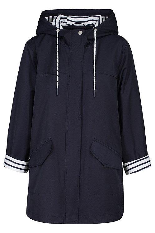 Long Sleeve Jacket w/ striped lining