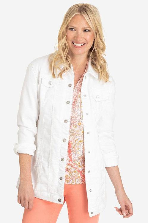 Maxi Jacket White