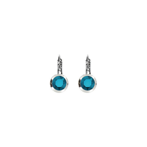 Myka Small Round Euroback Earrings