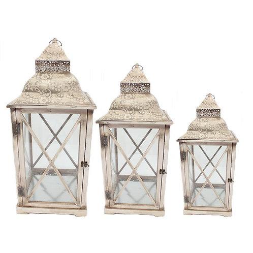 Vintage Lanterns Set of 3