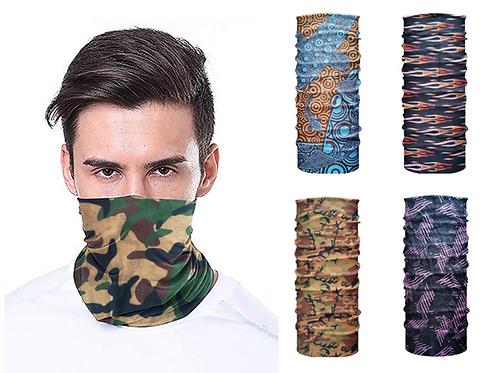 Multi-functional Unisex Tube Facemask
