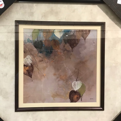 """Framed Glass Print 22"""" x 22"""""""