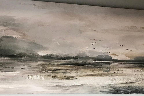 """Canvas Painting 30""""x60"""""""