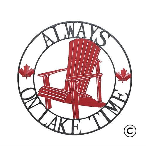 Lake Time Canada Circle