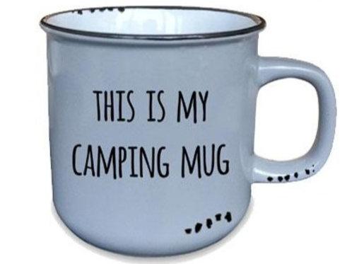 This Is My Camping Mug