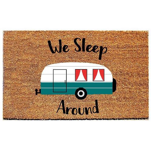 We Sleep Around Doormat
