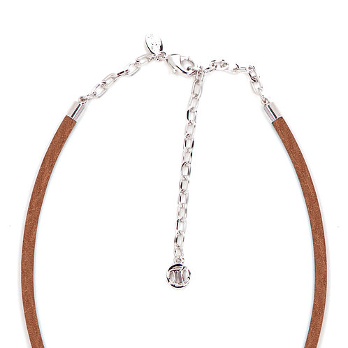 Myka Leather Strand Necklace