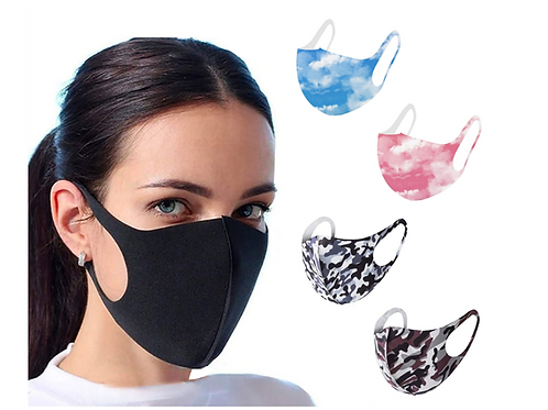 Washable Patterned Mask