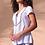 Thumbnail: Cap Sleeve Blouse w/Embroidery
