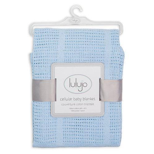 Lulujo Cellular Blanket Cotton