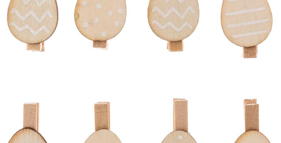 MINI WOODEN EGG PEGS