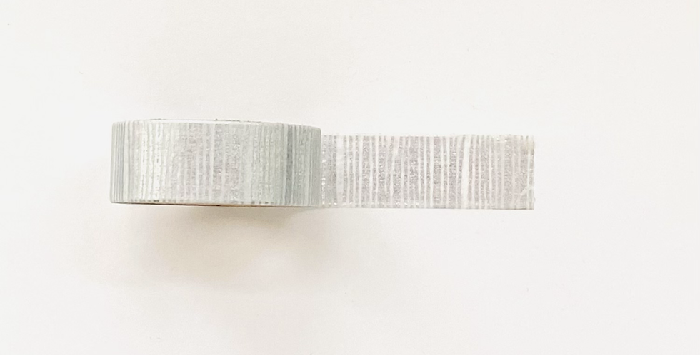 """WASHI TAPE """"SILVER LINES"""""""